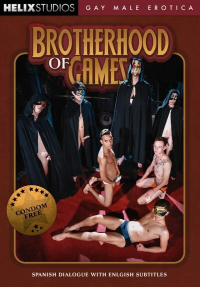 Brotherhood of Games DVD-Front-Cover