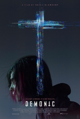 Demonic 2021 film official poster-IFC-Midnight