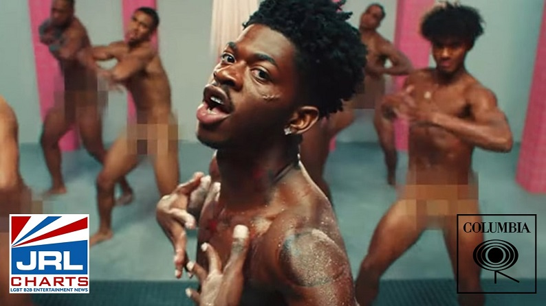 Lil Nas X Goes Nude in his NEW - Industry Baby MV-2021-07-23-JRL-CHARTS
