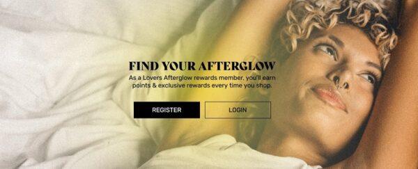 Lovers Afterglow Rewards Program-2021