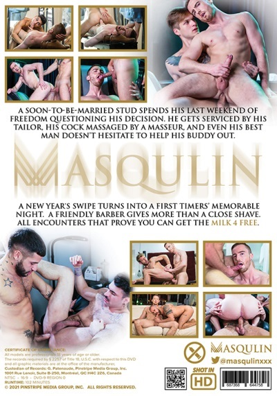 Milk 4 Free DVD-back-cover-Masqulin -Pulse
