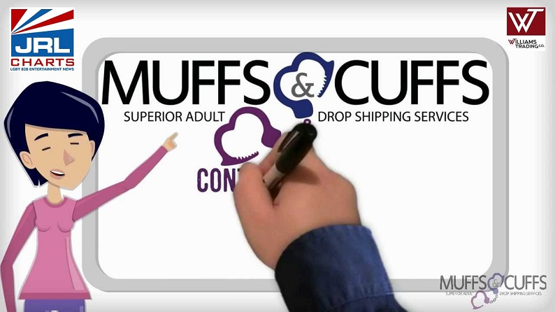 Muffs and Cuffs Adult Novelty Drop Shipment Commercial-Williams Trading Co-JRL-CHARTS