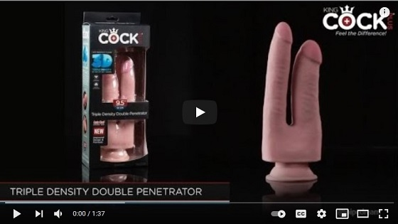 Pipedream Products-King Cock Plus Double Penetrator Commercial-2021-07-21-JRL-CHARTS