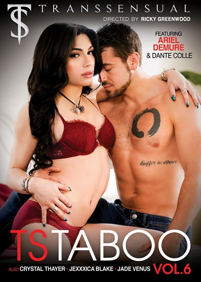 TS Taboo Volume 6 DVD-front-cover-Mile-High-Media
