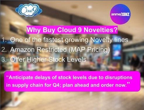 Why buy Cloud 9 Novelties DIgital Catalog  July 2021