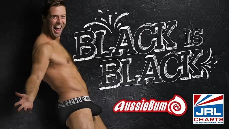 aussieBUM Black Is Black Men's Underwear Commercial Debut-2021-07-24-JRL-CHARTS