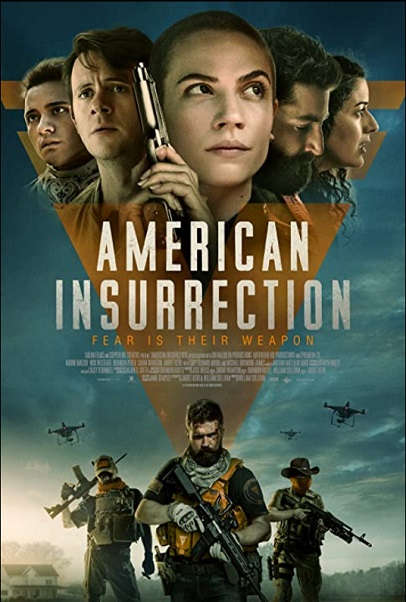 American Insurrection 2021 film Official Poster-Paramount Pictures-Saban Films