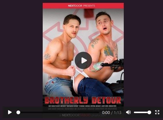 Brotherly Detour DVD-gay-porn trailer-Next-Door-Taboo-Pulse