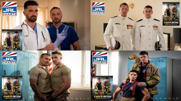 Icon Male-A Man In Uniform DVD-Screenclips-Mile High Media-2021