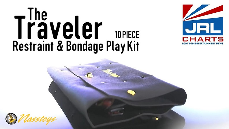Nasstoys - The Traveler 10 Piece Restraint and Bondage Kit Commercial-2021-08-20-JRL-CHARTS