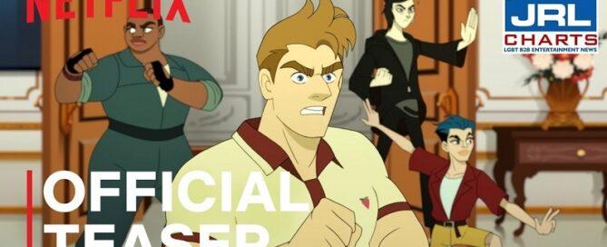 Netflix-Q-FORCE Official Trailer-LGBTQ animated series-2021-08-13-JRL-CHARTS