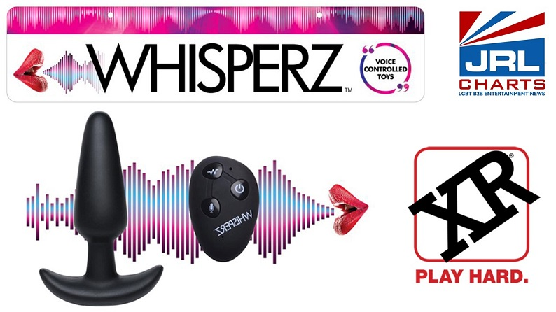 XR Brands expands Whisperz Voice-Activated Toy Line-2021-08-18-JRL-CHARTS-sex-toy-reviews