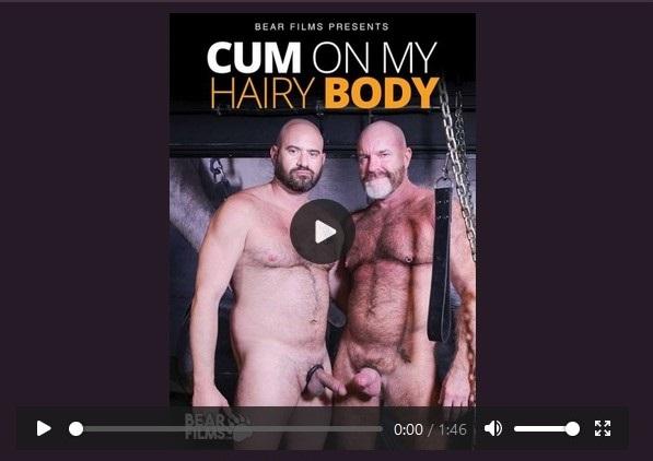 Cum On My Hairy Body DVD-Official Trailer-Bear Films-Pulse-2021