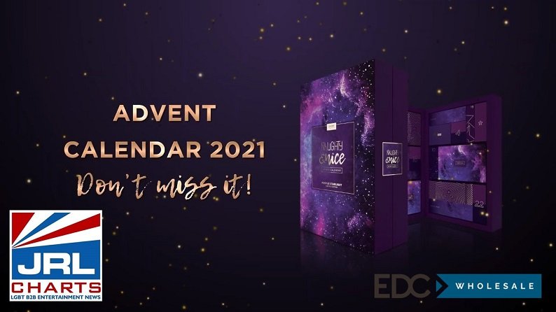 Naughty & Nice Advent Calendar 2021 Purple Starlight Edition Commercial-2021-09-14-JRL-CHARTS