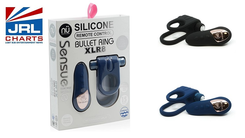Nü Sensuelle - Silicone Remote Control Bullet Ring XLR8 Is a Must Stock for Couples
