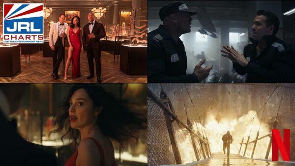 RED NOTICE Trailer-Netflix-Dwayne Johnson-Gal Gadot-Ryan Reynolds-Screenclips