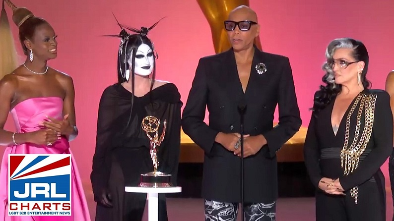 RuPaul Slays Record for Emmy Wins by a Black Artist for Drag Race-2021-09-20-JRL-CHARTS