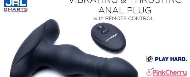 ThunderPlugs Vibrating-Thrusting Anal Plug Video-xr-brands-pinkcherry-wholesale-2021-09-03-jrl-charts