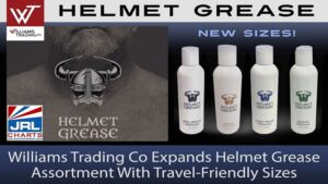 Williams Trading Co adds Helmet Grease Travel-Friendly Sizes-2021-09-17-JRL-CHARTS