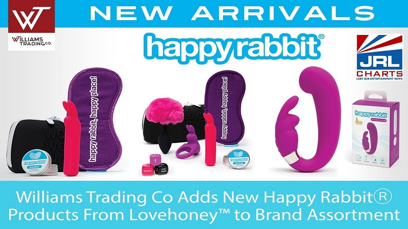 Happy Rabbit sex toys, Lovehoney Happy Rabbit products, sex toy tech, adult distributors, sex toy new releases