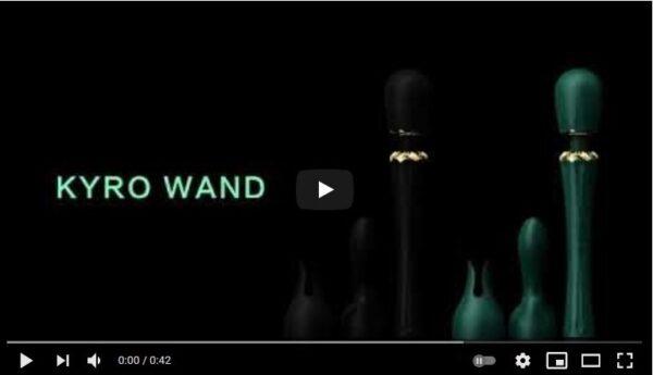 ZALO USA-KYRO WAND Massager Commercial-YouTube-2021
