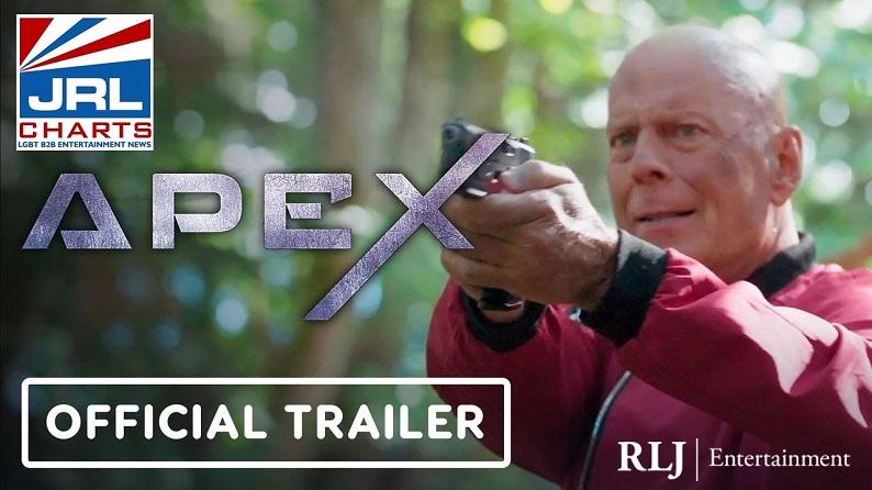 APEX Predator-First Look at Bruce Willis sci-fi thriller Trailer-RLJE Films-2021-10-13-JRL-CHARTS