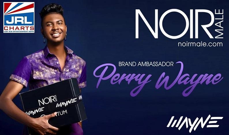 Fashion Designer Perry Wayne Named Noir Male Brand Ambassador-2021-10-01-JRL-CHARTS