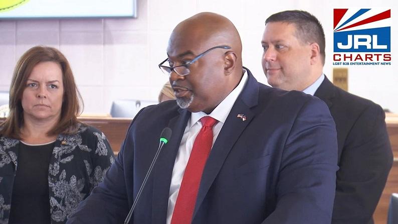 North Carolina Lt Governor Robinson Calls LGBTQ People 'Filth'-2021-10-11-JRL-CHARTS