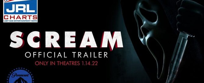 Scream Official Trailer-Only In Theaters January 14, 2022-Paramount-Pictures-JRL-CHARTS