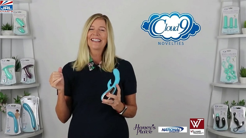 Sunny Rodgers Spotlights Cloud 9 Novelties Come-Hither Motion Rabbit, Clitoral Suction, & Vibration
